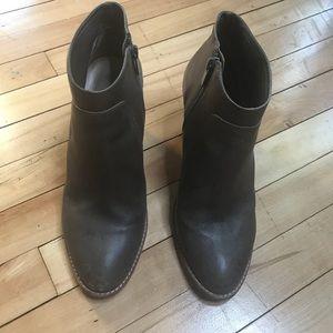 Brown Loeffler Randall Leather Booties
